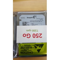 """Disque dur 2.5"""" Hard Disk Drive HDD Western Digital WD2500BEVT 250GB 5400 rpm 591194-001"""