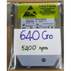 """Disque dur 2.5"""" Hard Disk Drive HDD Western Digital 250GB 5400 rpm WD2500BEVT-22A23T0"""