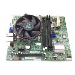 Carte Mere motherboard all in one ACER Aspire avec processeur core i3-458 Z3101 U02S103801951 D027880D4C4C