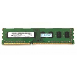 Barrette memoire MICRON 4GB PC3-12800U-11-11-B1