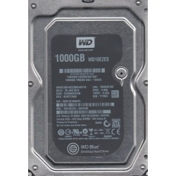 "Disque dur destop HDD hard disk drive Wester Digital Blue Desktop WD10EZEX 3.5"" 1 To SATA 6Gb/s 64 Mo 7200RPM  64 cache"