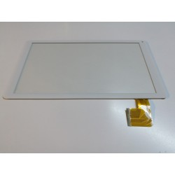 "blanc: ecran tactile touchscreen digitizer 10.1"" YJ607FPC-V0"
