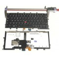 NOIR: Keyboard clavier LENOVO Thinkpad X270 Backlit CS13XBL 01EP073 SG-85910-2FA with pointer with Frame