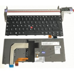 NOIR: Keyboard clavier LENOVO Thinkpad T460S Backlit SN20H42375 00PA463BL-85F0 With Pointer With Frame