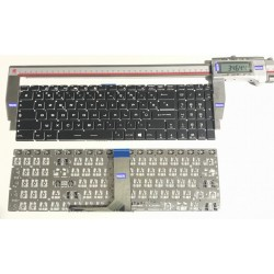 NOIR: Keyboard clavier AZERTY FR MSI GS60 V143322AK 09JM0030 for Backlit