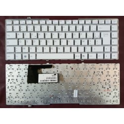 Keyboard Clavier Francais AZERTY SONY VGN-FW 81-31105002-37		White Blanc