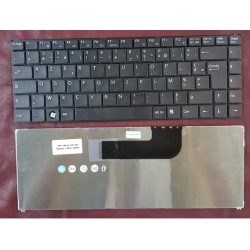 Keyboard Clavier Francais AZERTY SONY VGN-N SERIES 			Noir Black