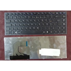 Keyboard Clavier Francais AZERTY SONY VPC-S Series White Blanc