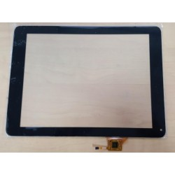 Noir: écran tactile touch screen Digitizer Polaroid Infinite+ MID1048PXE04.141
