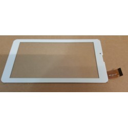 """Blanc: ecran tactile touch screen digitizer 7"""" OYSTERS PCiT 7V 3G,"""