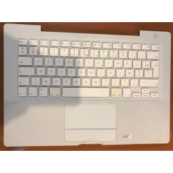 Clavier Keyboard Apple MacBook A1181 Blanc 2006 2007 azerty francais 	13GU399AP100