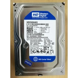 "Disque dur Hard Disk Drive HDD 3.5"" Western Digital 250Gb	WD2500AAKX	0894N4"