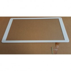 "Blanc: ecran tactile touch screen digitizer 10"" Polaroid midc157pce51.112"