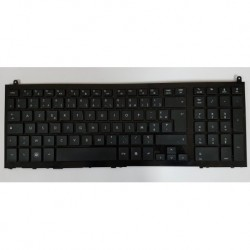Clavier keyboard PC portable HP 4510s 4515s AZERTY