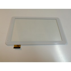 blanc: ecran tactile touchscreen digitizer WANJ WJ695-FPC-V2 45 pins 9