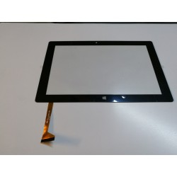 noir: ecran tactile touchscreen digitizer Surftab Twin 10.1 ST10432-8 black