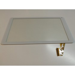 blanc: ecran tactile touchscreen digitizer compatible XC-PG1010-038-A0-FPC