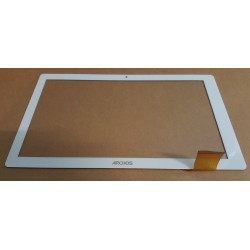 "Blanc: ecran tactile vitre digitizer 10"" pour tablette UNUSUAL 10X QUAD T-10X QUAD"
